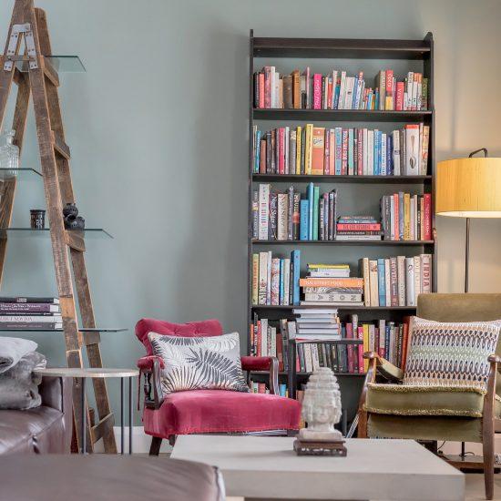 Bookcase lifestyle image