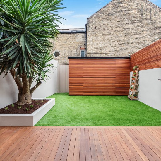 Small garden lifestyle image