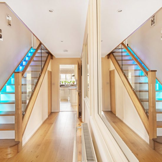 Symmetrical stair case image