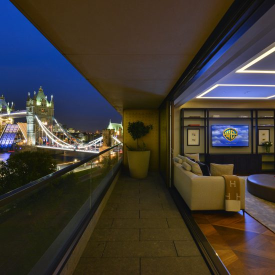 London night Tower Bridge image
