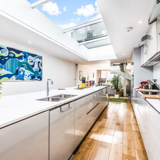 Extended kitchen image