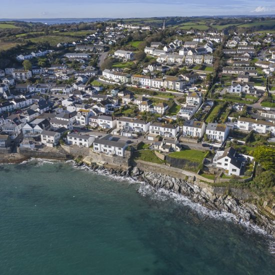 drone images of Cornwall