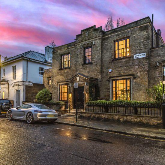 North London dusk photography