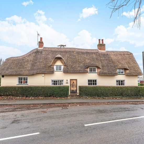 Cambridgeshire thatched cottage