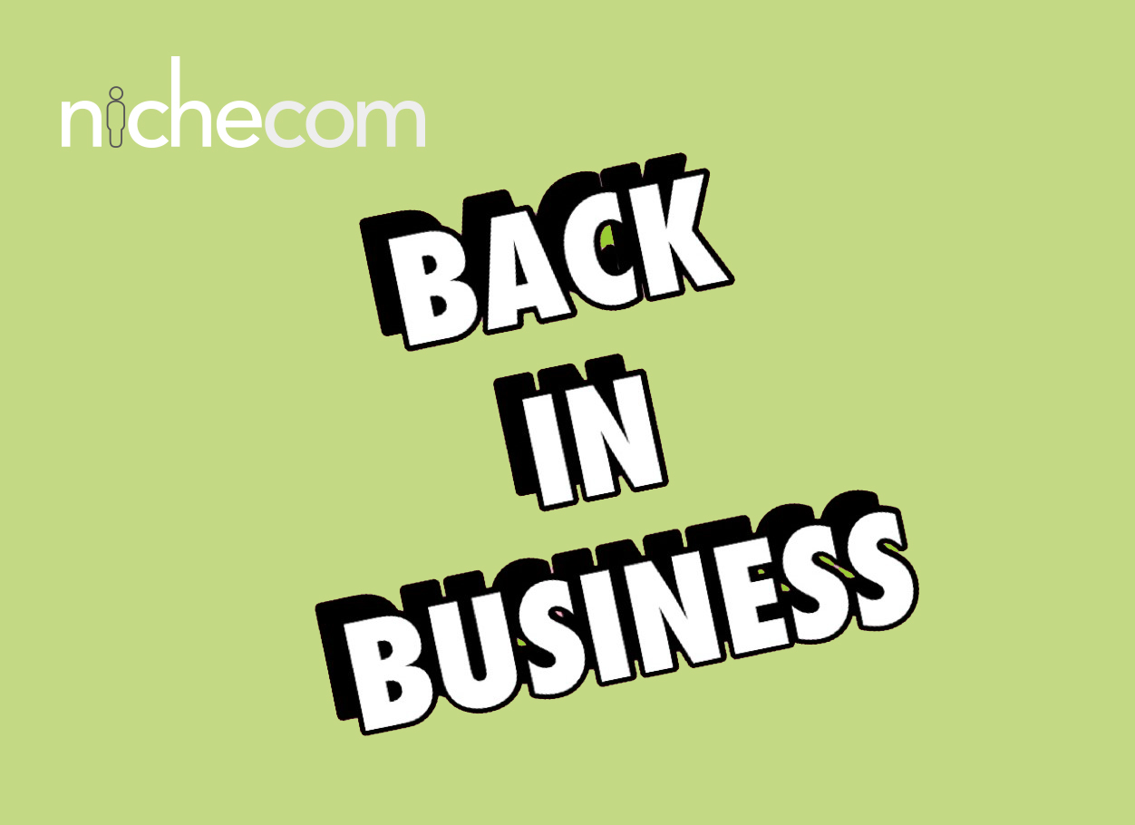 NicheCom back in business May 2020