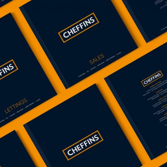 Cheffins estate agent marketing brochure