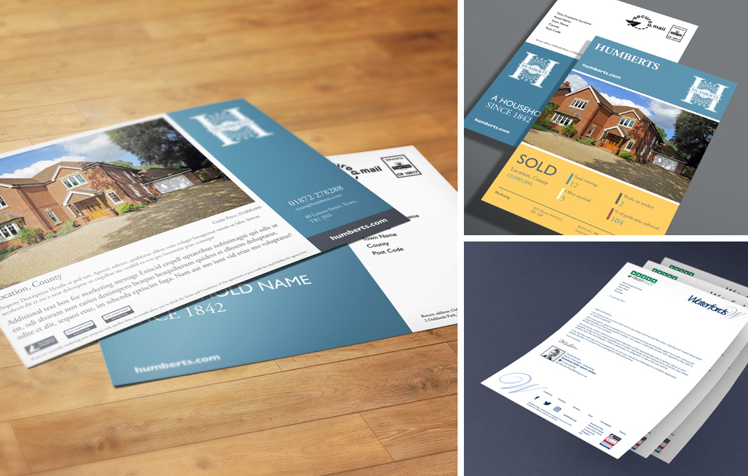Humberts property marketing flyer