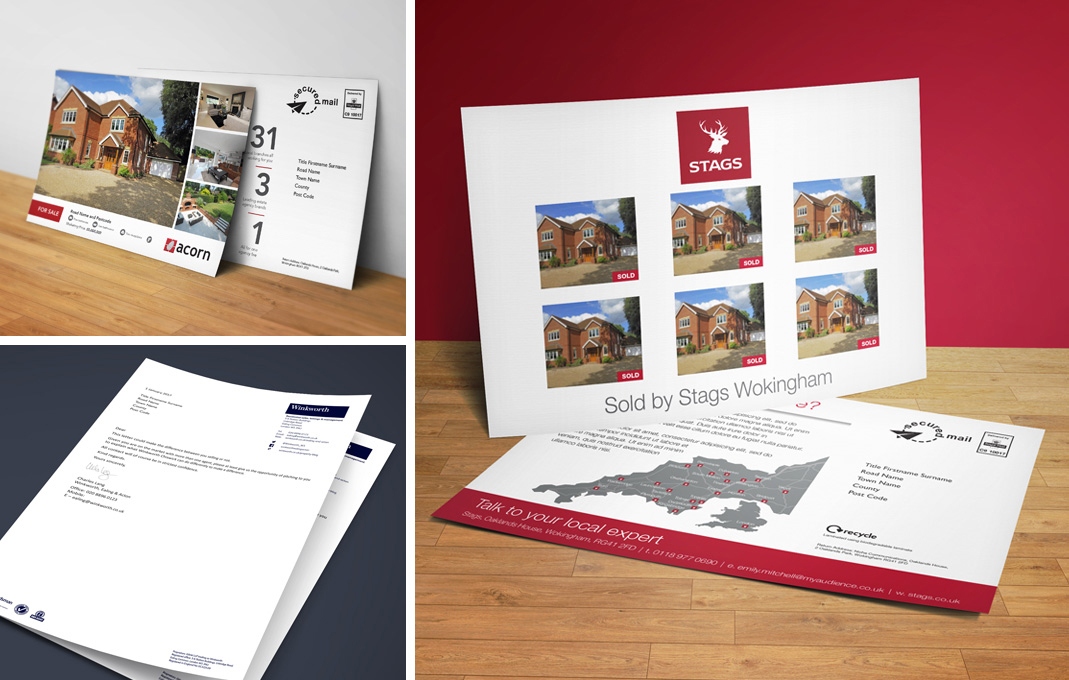 property marketing flyer Stags