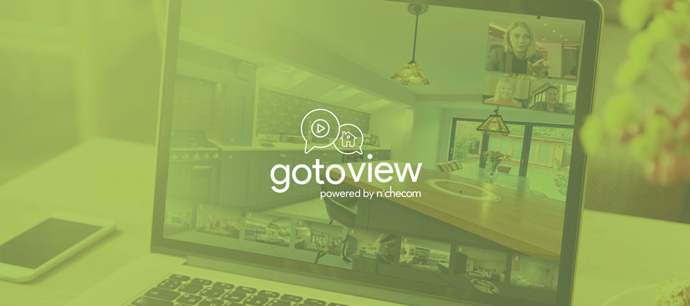 GotoView virtual viewings graphic