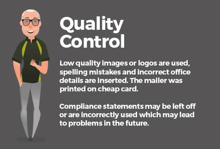 NicheCom print portal quality control