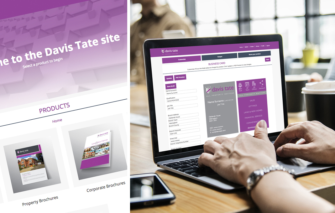 NicheCom design and marketing portal for estate agents