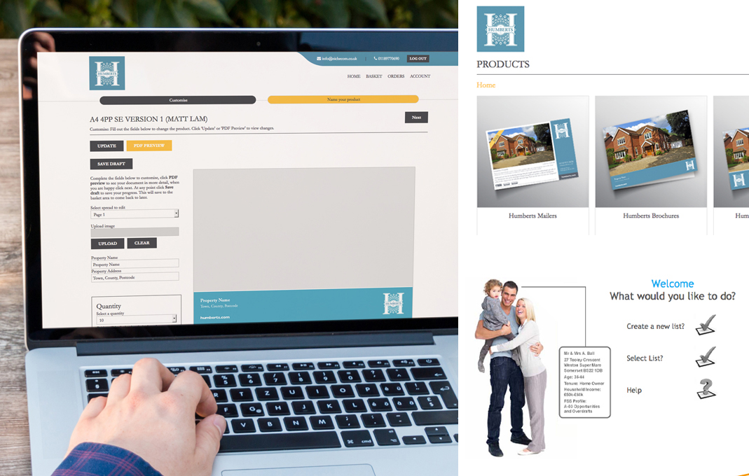 NicheCom design and marketing portal