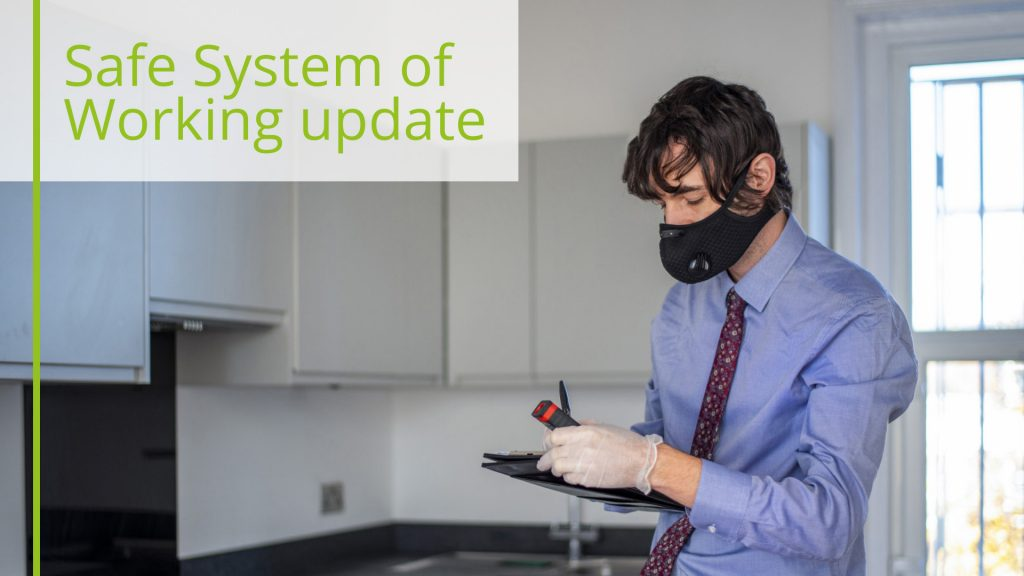 Covid-19 Safe System of Working update Nov 2019
