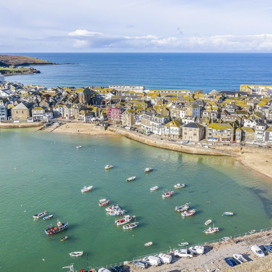 Drone photography St. Ives