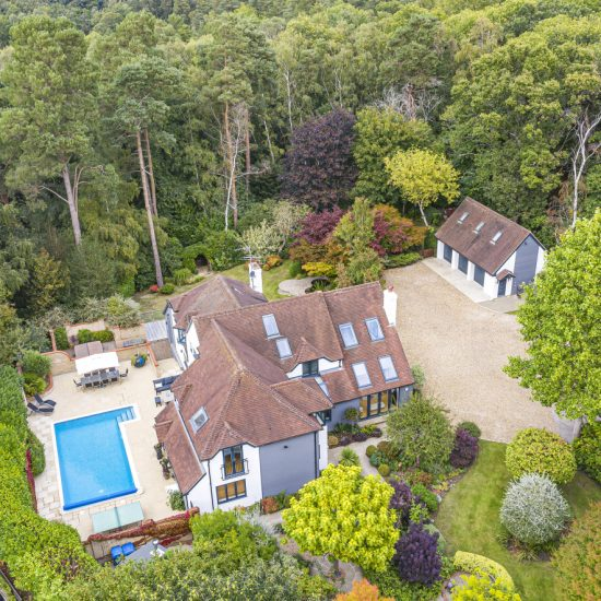 Crowthorne Berkshire drone photography