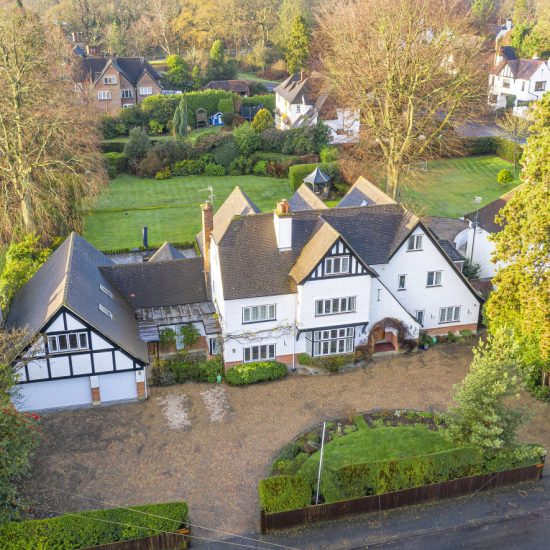 Drone property photography home counties